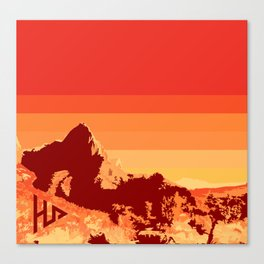 Zion. Canvas Print