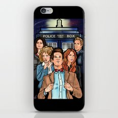 My Doctor and His Posse iPhone & iPod Skin