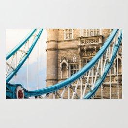 Rendezvous At Tower Bridge Rug