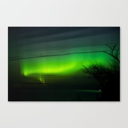 Michigan Aurora Canvas Print