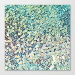 Mermaid Scales Canvas Print