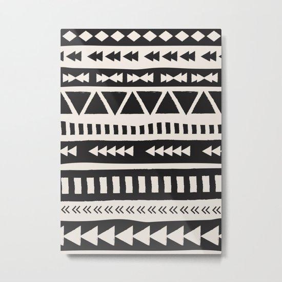 Boho style pattern Metal Print