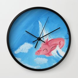 Stratosphere Flight Wall Clock