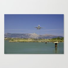 Corfu Take Off Canvas Print