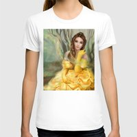 belle T-shirts featuring Belle by MartaDeWinter