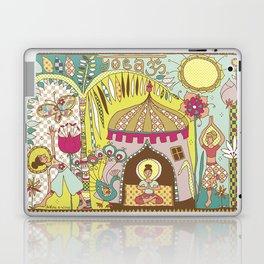Yogashala by Justine Aldersey-Williams Laptop & iPad Skin