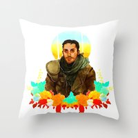 mad max Throw Pillows featuring Mad Max by chazstity
