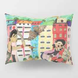 Lady of the dancing..... Pillow Sham