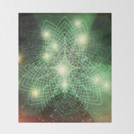 Geometry Dreaming Throw Blanket