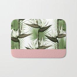 Strelitzia Tropical Pink Bath Mat