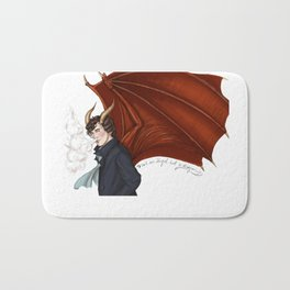 Not An Angel Bath Mat