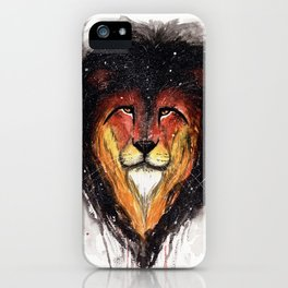 Fire Lion. iPhone Case