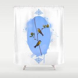 A fine pair Shower Curtain