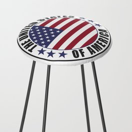 The United States of America - USA Counter Stool