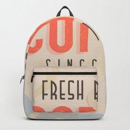 Fresh Brewed Coffee Backpack