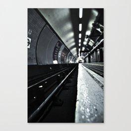 Kings Cross Tube 5am Canvas Print