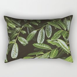 Leaves by Andrew McSparran Rectangular Pillow
