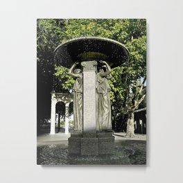 Skidmore Fountain Metal Print