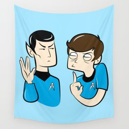 Spock You Wall Tapestry