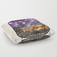 Love Can Move Mountains Floor Pillow