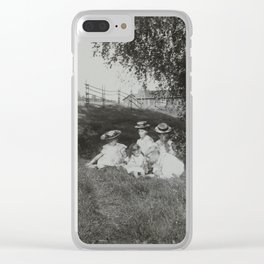 1900 Family Portrait Clear iPhone Case