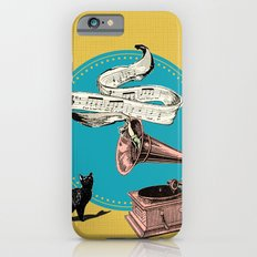 The Cat and the Song Cat (emerald) Slim Case iPhone 6