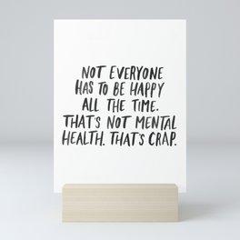Mental Health Mini Art Print