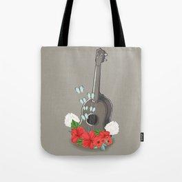 Ukelele Bloom Tote Bag