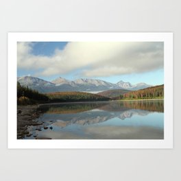 Canadian Rockies in September Art Print