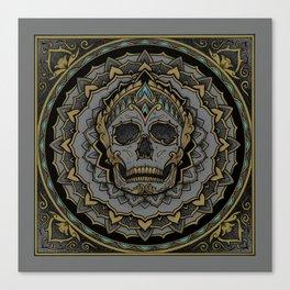 Ornamental Skull Canvas Print