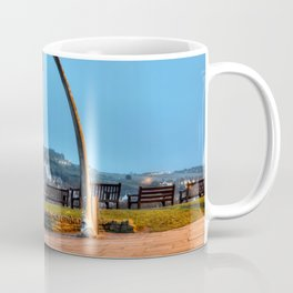 Whitby Whalebone Blue Hour Coffee Mug