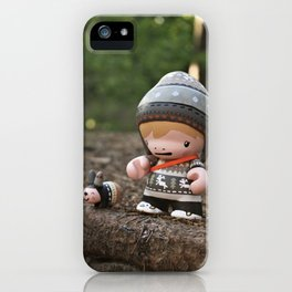 Folki+Knut iPhone Case