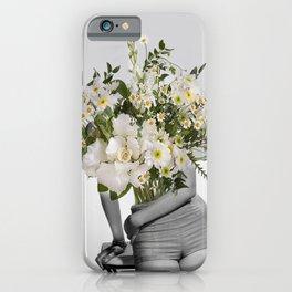 Flowers Spirit Collage iPhone Case