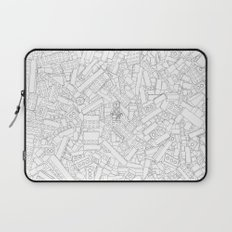 The Lego Movie — Colouring Book Version Laptop Sleeve