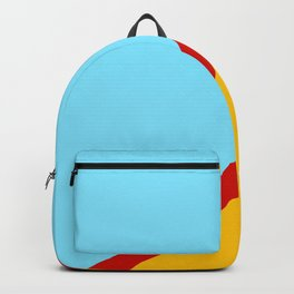 Abstract Retro Surface Backpack