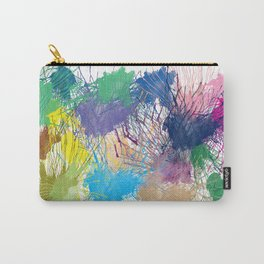 Ink Splats Carry-All Pouch