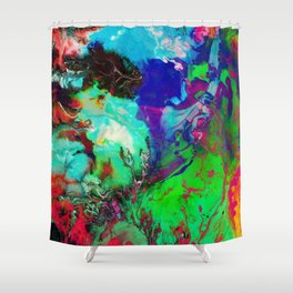 JUST COLOUR Shower Curtain