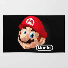 Mario Poster Rug