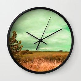 English Wilderness Wall Clock