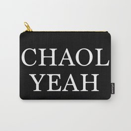 Chaol Yeah Black Carry-All Pouch