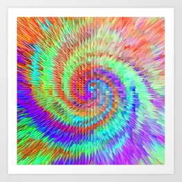 Sunrise in another galaxy.... Art Print