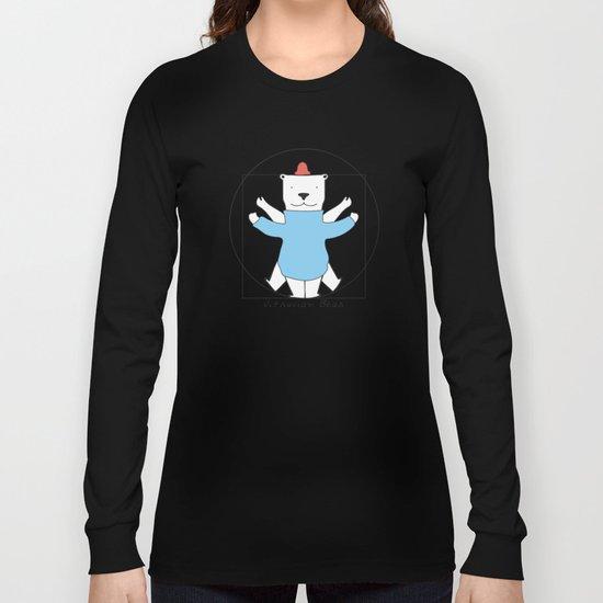 Vitruvian Bear Long Sleeve T-shirt