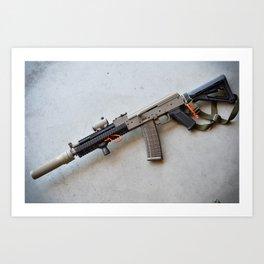 Modern AK Art Print