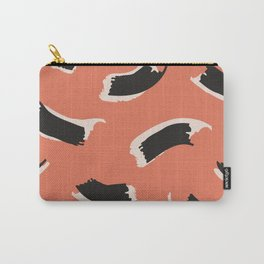 Animal Stripes in Terracotta Carry-All Pouch