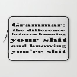Grammar: The Difference Between Your and You're Laptop Sleeve