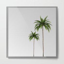 Palm Trees | Mirror Art Design Metal Print