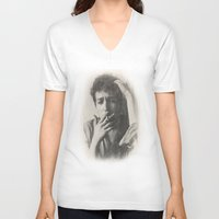 dylan V-neck T-shirts featuring Dylan by EclipseLio