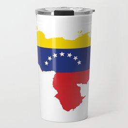 Venezuela - venezuelan heart - flag design Travel Mug