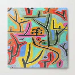 Paul Klee Park Near Lu Metal Print
