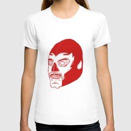 Red Luchador T-shirt